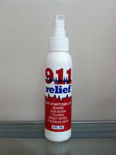 911 RELIEF SPRAY/4 OZ