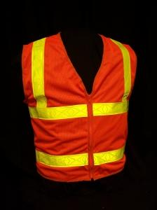 ANSI Orange Class II Safety Vest