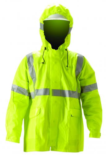 ARCLITE JACKET HI-VIZ FLOUR LIME-YELLOW/2 ADDED