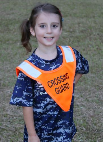 B-SAFE CHILDS CROSSING GUARD PONCHO.