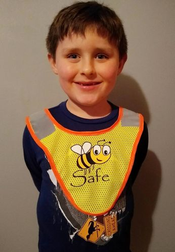 Ameri-Viz B-SAFE CHILDS CROSSING GUARD PONCHO CG