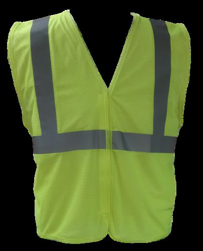 Ameri-Viz LIME ANSI CLASS 2 VEST 1 HORIZONTAL STRIPE XL