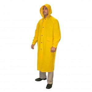 CORDOVA .35MM RENEGADE PVC/POLY YELLOW 2PC RIDING COAT 3X