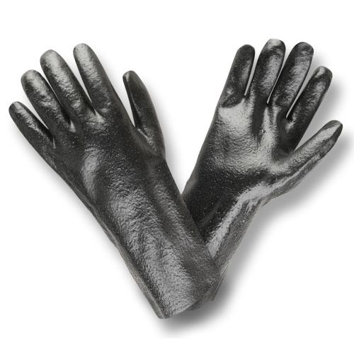 CORDOVA BLK PVC ROUGH FINISH 14 INTERLOCKED GLOVES