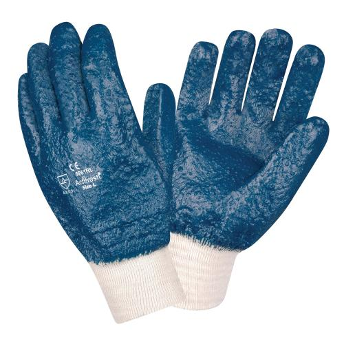 CORDOVA BRAWLER PREMIUM DIPPED NITRILE, ROUGH PALM COATED