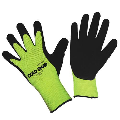 CORDOVA COLD SNAP, 7-GAUGE, HI-VIS GREEN, BRUSHED S