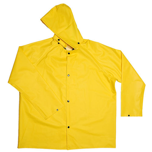 CORDOVA DEFIANCE FR .28MM PVC/NYLON YELW 2PC RAIN COAT XL