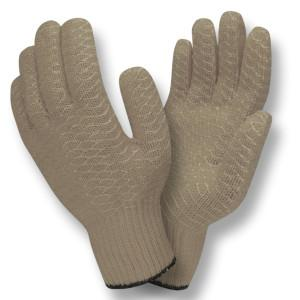 CORDOVA GRAY SYNTHETIC MACHINE KNIT SHELL, SOFT PVC S