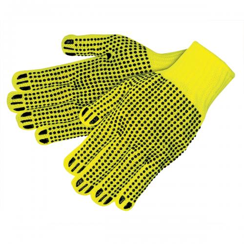 CORDOVA HI-VIS YELLOW HEAVYWEIGHT ACRYLIC MACHINE KNIT, L