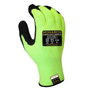 CORDOVA MONARCH-PU: 13-GAUGE HI-VIS GREEN TAEKI5 S