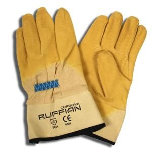 CORDOVA RUFFIAN™ PREMIUM RUBBER DIPPED, CANVAS LINED, CRINKLE FINISH, SAFETY CUFF