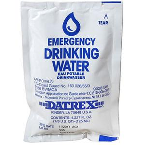 DATREX EMERGENCY DRINKING WATER 4.2OZ