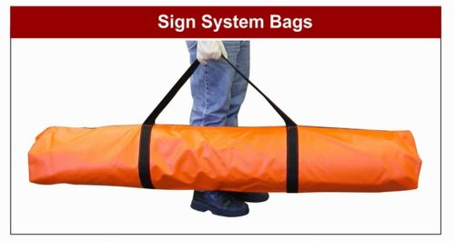 "Dicke Tool 48"" Roll-Up Sign Bag with Handle"