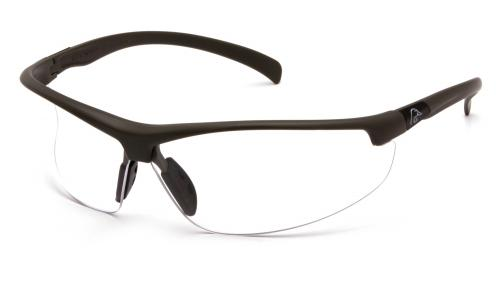 Ducks Unlimited SHOOTING EYEWEAR BLACK FRAME/CLEAR LENS