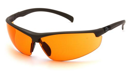 Ducks Unlimited SHOOTING EYEWEAR BLACK FRAME/ORANGE LENS