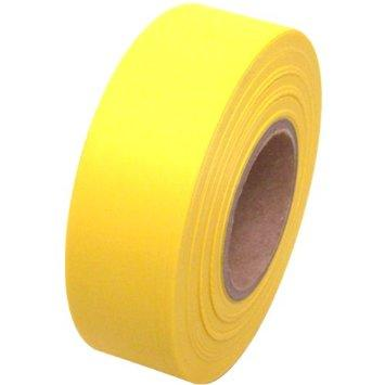 FLAG TAPE/YELLOW/1-3/16 X 300 INDIVIDUAL ROLLS