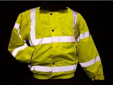 INSULATED CL3 JACKET/CL2 VEST/LIME/SILVER REFL 5X