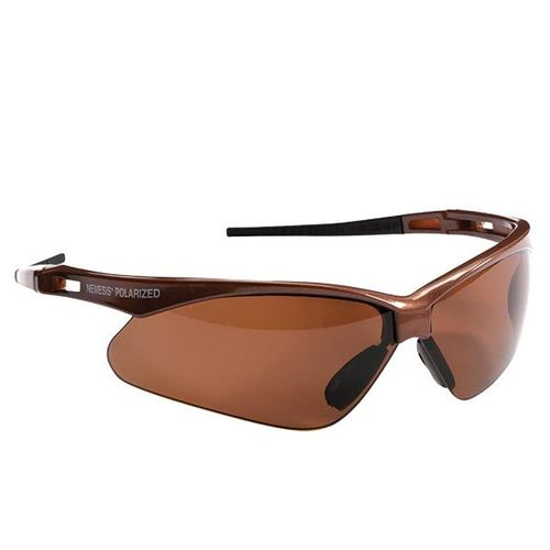 Kimberly Clark Professional Jackson™ V30 Nemesis™ Polarized Eyewear, Brown Frame, Brown Lens