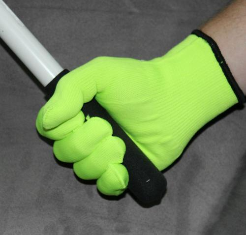 MTS SAFETY LIME STRETCH KNIT GLOVE