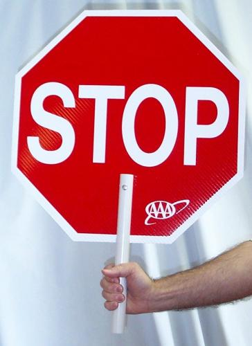 MTS Safety 18 STOP/STOP/CORO/ABS HANDL AAA- LOGO