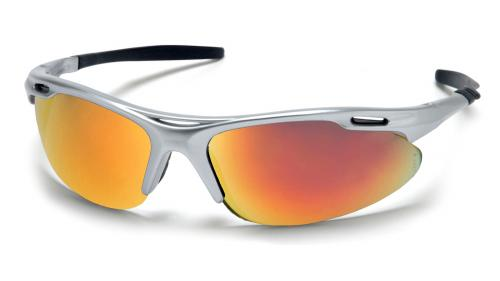 Pyramex AVANTE SILVER FRAME/ICE ORANGE MIRROR LENS