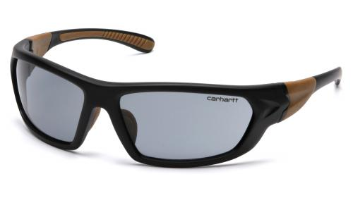 Pyramex CARBONDALE BLACK/TAN FRAME, GRAY ANTI-FOG LENS