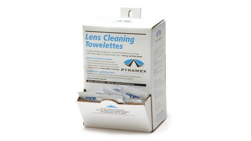 Pyramex Cleaning towelettes
