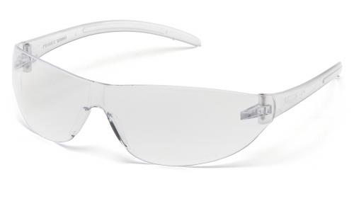 Pyramex Clear Lens with Clear Temples O