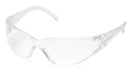 Pyramex Fastrac Clear Lens with Clear Frame
