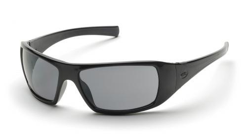 Pyramex GOLIATH BLACK FRAME GRAY LENS