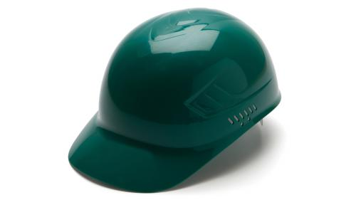 Pyramex GREEN BUMP CAP 4-POINT GLIDE LOCK