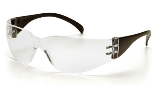 Pyramex INTRUDER BLACK TEMPLES WITH CLEAR FRAME