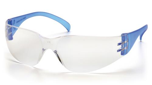 Pyramex INTRUDER BLUE TEMPLES WITH CLEAR LENS