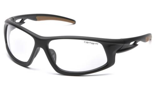 Pyramex IRONSIDE BLACK FRAME: CLEAR ANTI-FOG LENS