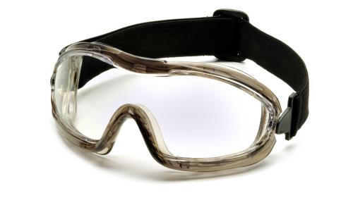 Pyramex LOW PROFILE CHEMICAL SPLASH GOGGLE CLEAR ANTI-FOG