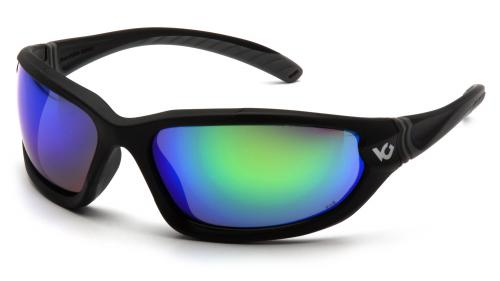 Pyramex OCOEE, BLACK FRAME,GREEN MIRROR ANTI-FOG LENS