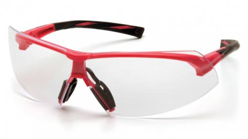 Pyramex ONIX PINK FRAME WITH CLEAR LENS