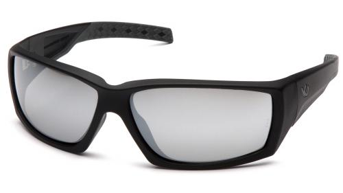 Pyramex OVERWATCH BLACK FRAME/SILVER MIRROR ANTI-FOG