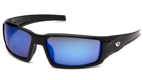 Pyramex PAGOSA BLACK FRAME,ICE BLUE MIRROR ANTI-FOG