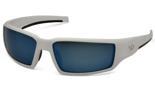 Pyramex PAGOSA WHITE FRAME, ICE BLUE MIRROR ANTI-FOG
