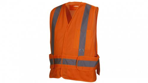 Pyramex RCA2510  CLASS 2 HI VIS ORANGE ADJUSTABLE M-XL