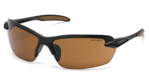 Pyramex SPOKANE BLACK FRAME WITH SANDSTONE BRONZE LENS