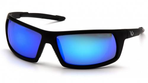 Pyramex STONEWALL BLACK FRAME ICE BLUE MIRROR ANTI-FOG