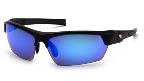 Pyramex TENSAW BLACK/GRAY FRAME, ICE BLUE MIRROR ANTI-FOG
