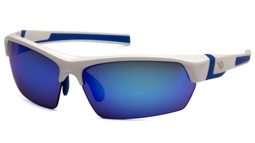Pyramex TENSAW WHITE/BLUE FRAME,ICE BLUE MIRROR ANTI-FOG