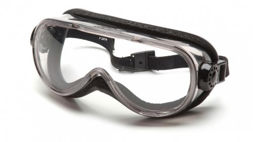 Pyramex TOP SHELF CHEMICAL SPLASH GOGGLE/FOAM PADDING