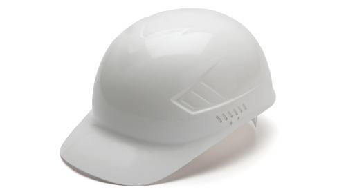 Pyramex WHITE BUMP CAP 4-POINT GLIDE LOCK