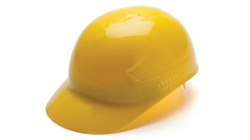 Pyramex YELLOW BUMP CAP 4-POINT GLIDE LOCK
