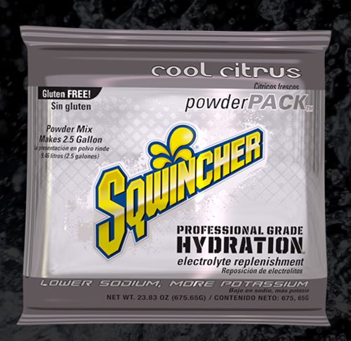 Sqwincher Sqwincher® PowderPacks (Yields 2.5 gal), Cool Citrus