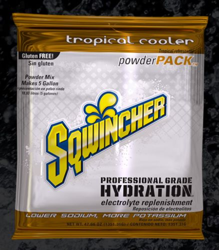 Sqwincher Sqwincher® PowderPacks (Yields 5 gal), Tropical Cooler